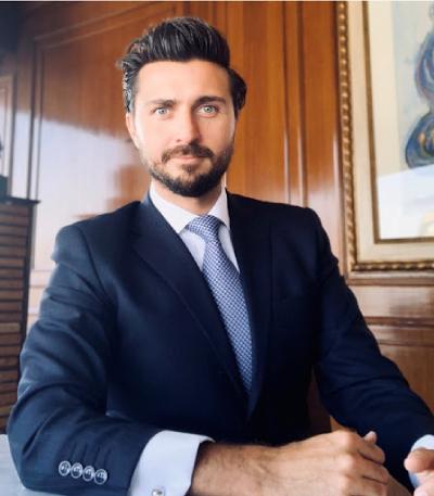 Headshot of attorney gustavo a. madero