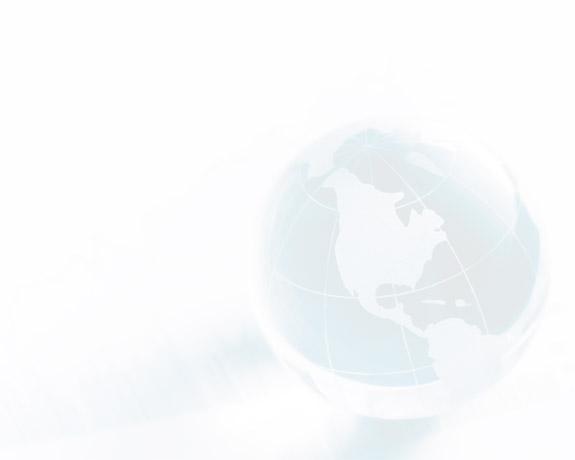 Globe focused on North America